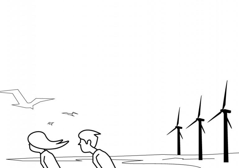 omgang natuurlijke energie
