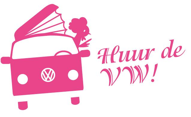 geïllustreerde button verhuur VW