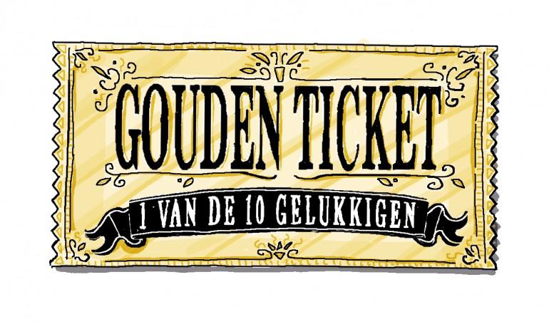 tekening gouden ticket